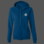 GD080 Women's Heavy Blend™ full zip hoodie